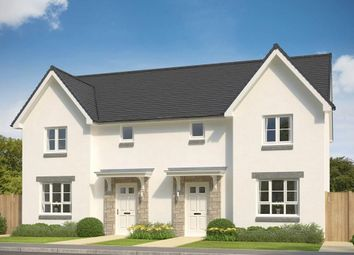 """Thumbnail 3 bed semi-detached house for sale in """"Craigend"""" at Oldmeldrum Road, Inverurie"""