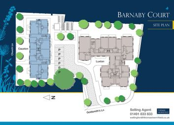 Thumbnail 2 bedroom flat for sale in Barnaby Court, Wallingford