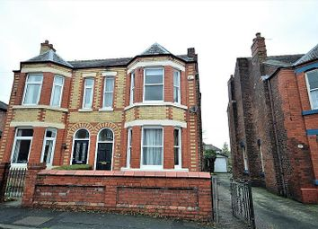 Thumbnail 4 bedroom semi-detached house to rent in Victoria Avenue, Grappenhall, Warrington