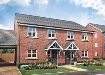 "Thumbnail 3 bed detached house for sale in ""Hamlet C"" at Lime Avenue, Saffron Walden"