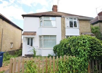 Thumbnail 2 bed semi-detached house for sale in Brampton Road, Cambridge