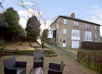 Thumbnail 5 bedroom semi-detached house for sale in Stoney Croft, Long Lane, Honley, Holmfirth, West Yorkshire