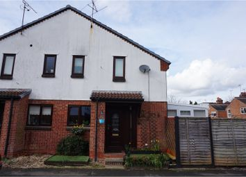 Thumbnail 1 bedroom end terrace house for sale in William Tarver Close, Warwick