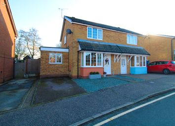 Thumbnail 3 bed semi-detached house for sale in Lydgate Close, Lawford, Manningtree