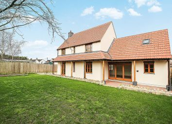 Thumbnail 4 bed detached house for sale in Shapwick Road, Westhay, Glastonbury