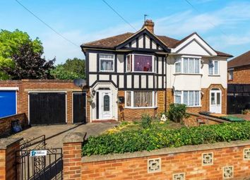 Thumbnail 3 bedroom semi-detached house for sale in Brackley Road, Bedford, Bedfordshire, .