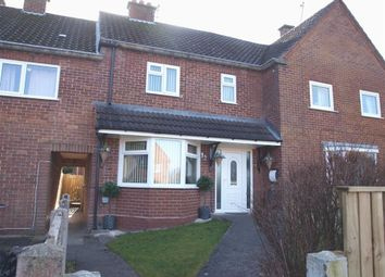 Thumbnail 3 bed terraced house for sale in Sarn Lane, Caergwrle, Wrexham
