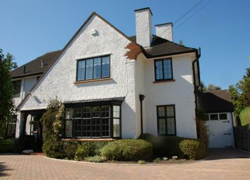 Thumbnail 4 bed detached house to rent in Ashwood Road, Woking