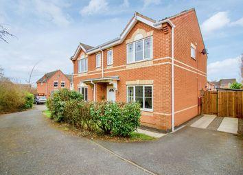 Samphire Close, Hamilton, Leicester LE5. 3 bed semi-detached house for sale