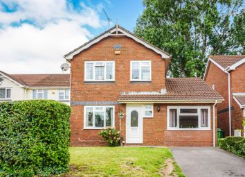 Thumbnail 3 bed detached house for sale in Beckgrove Close, Cardiff