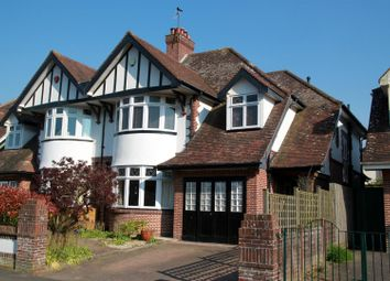 Thumbnail 4 bed semi-detached house for sale in Old Church Road, Uphill, Weston-Super-Mare