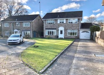 Thumbnail 4 bed detached house for sale in Ivydale, Lisvane, Cardiff