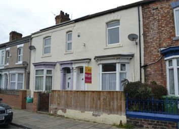 Thumbnail 3 bed terraced house to rent in Grange Road, Thornaby, Stockton-On-Tees