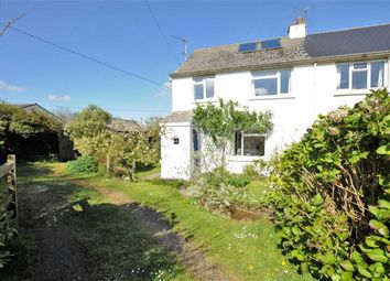 Thumbnail 3 bed semi-detached house for sale in Darracott, Welcombe, Devon