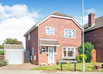 Thumbnail 3 bedroom detached house for sale in Gainsborough Drive, Lowestoft
