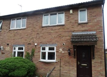 Thumbnail 3 bedroom semi-detached house to rent in Castle Fields, Leicester