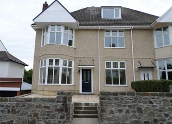 Thumbnail 4 bedroom semi-detached house for sale in Grosvenor Road, Swansea