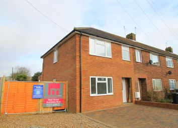 Thumbnail 3 bed end terrace house for sale in Halewick Close, Sompting, Lancing