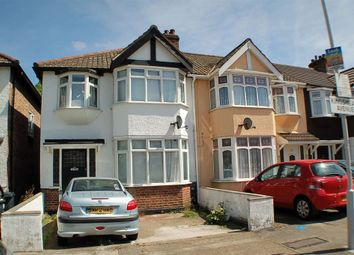 Thumbnail 3 bed end terrace house to rent in Kingsmead Avenue, Romford