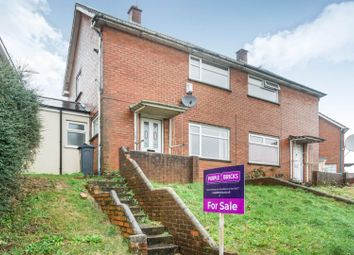 Thumbnail 2 bed semi-detached house for sale in Moore Close, Cardiff