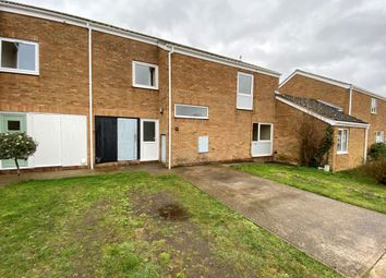 Thumbnail 3 bed end terrace house for sale in Eriswell Drive, Lakenheath, Brandon