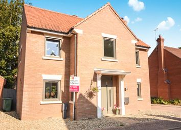 Thumbnail 4 bed detached house for sale in Chervil Walk, Thetford
