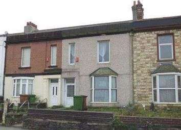 Thumbnail 3 bedroom terraced house for sale in Cheltenham Place, Greenbank, Plymouth, Devon
