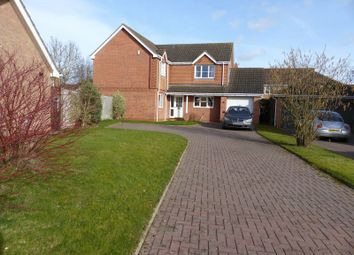 Thumbnail 4 bed detached house for sale in Vasey Close, Saxilby, Lincoln