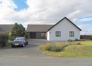 Thumbnail 4 bed detached bungalow for sale in Langford Road, Johnston, Haverfordwest