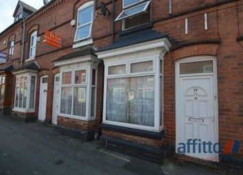 Thumbnail 4 bedroom terraced house to rent in North Road, Selly Oak, Birmingham