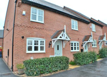 Thumbnail 2 bed end terrace house for sale in Vulcan Way, Castle Donington, Leicestershire