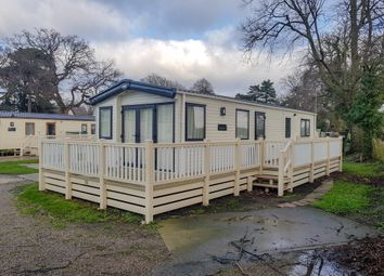 Thumbnail 2 bedroom mobile/park home for sale in Chapel Road, Carlton Colville, Lowestoft