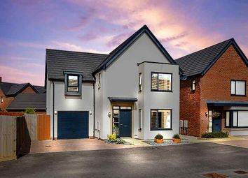 Thumbnail 4 bed detached house for sale in Minerva Heights, Blunsdon, Swindon