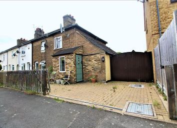 Thumbnail 2 bed terraced house for sale in Great North Road, Wyboston