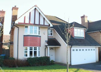 Thumbnail 4 bed detached house for sale in Verne Close, Whiteley, Fareham.