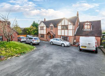 Thumbnail 6 bed detached house for sale in Burton Road, Midway, Swadlincote