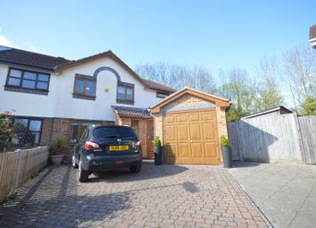 Thumbnail 4 bed semi-detached house for sale in Armada Close, Rownhams, Southampton