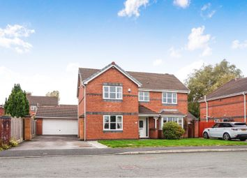 Thumbnail 4 bed detached house for sale in Duddon Close, Standish, Wigan