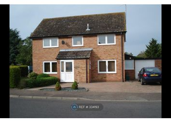 Thumbnail 4 bedroom detached house to rent in Nunnery Drive, Thetford