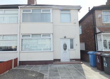 Thumbnail 3 bed semi-detached house to rent in Beechburn Road, Huyton, Liverpool