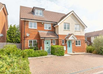 Thumbnail 3 bed semi-detached house for sale in Little Stanford Close, Lingfield, Surrey