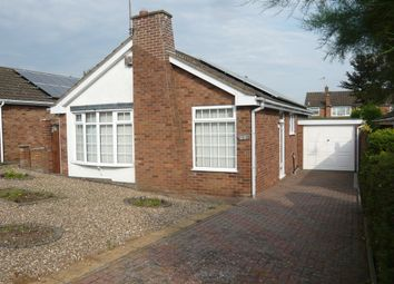 Thumbnail 2 bedroom detached bungalow for sale in Gillbank Drive, Ratby, Leicester