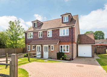 Thumbnail 4 bed semi-detached house for sale in Brookhill Road, Copthorne, Crawley
