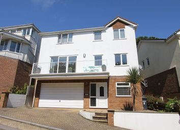 Thumbnail 5 bed detached house for sale in Badger Close, Preston, Paignton