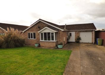 Thumbnail 3 bed detached bungalow to rent in Newbolt Close, Caistor, Market Rasen