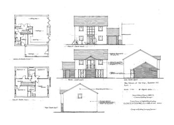 Thumbnail 3 bed detached house for sale in Ruardean Hill, Drybrook