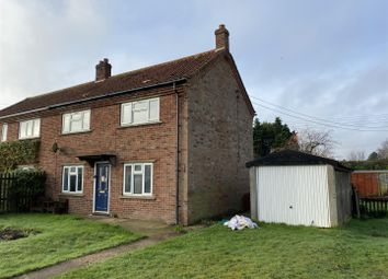 Thumbnail 3 bed semi-detached house for sale in St. Andrews Close, Old Buckenham, Attleborough