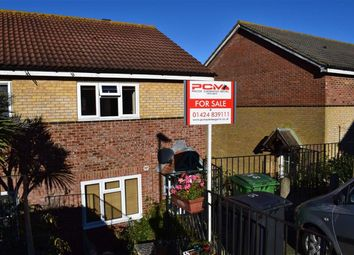 Thumbnail 3 bed semi-detached house for sale in Moorhen Close, St Leonards-On-Sea, East Sussex