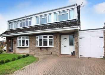 Thumbnail 3 bed semi-detached house for sale in Woodham Leas, Old Catton, Norwich