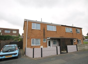 Thumbnail 3 bedroom semi-detached house for sale in Burbage Court, Mansfield, Nottinghamshire